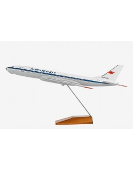 Tupolev 104 (Tu-104) Aeroflot Soviet Airlines CCCP-42477 in 1970's livery
