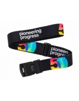 """Cadeado de bagagem - 50 anos """"Pioneering Progress"""" AIRBUS"""