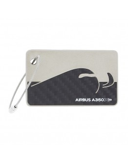 AIRBUS - A350 XWB porta-chaves de fibra de carbono