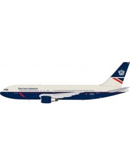 Boeing 767-200 British Airways Landor N655US With Stand