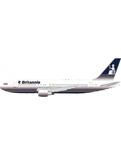 Boeing 767-200 Britannia Airways G-BRIF With Stand