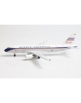 Airbus A320 Avianca Colombia Retro N284AV