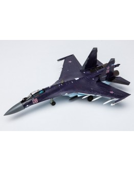 Sukhoi SU-35 heavy fighter jet Purple scheme Russian Air Force, 08