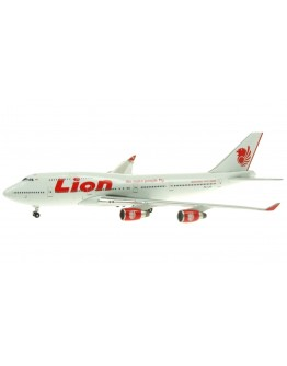 Boeing 747-412 Lion Airlines PK-LHF