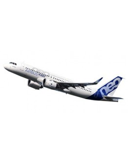 Airbus A320neo Airbus House Colors F-WNEO With Stand