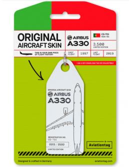 PORTA- CHAVES AIRBUS A330 – CS-TOI - Branco