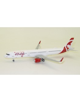 Airbus A321-211 Air Canada Rouge C-GHQI With Stand