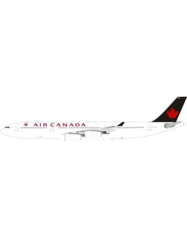 Airbus A340-300 Air Canada C-FYLG with stand