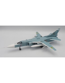 Sukhoi SU-24M Fencer Ukraine White 22 Soviet Stars Wave 2