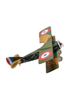 Spad XIII 'White 3', Pierre Marinovitch, Escadrille Spa 94 'The Reapers', Youngest French Air Ace of WWI