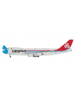 """Boeing 747-8F Cargolux """"Not Without My Mask"""" LX-VCF Interactive Series"""