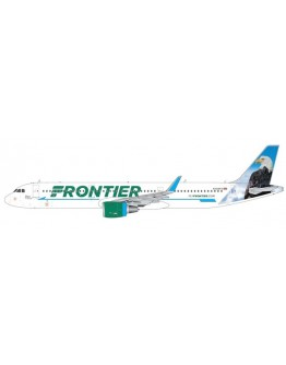 """Airbus A321 Frontier Airlines """"Steve the Eagle"""" N709FR"""