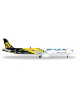 """Airbus A321 Turkish Airlines """"BVB 09 Borussia Dortmund"""" TC-JSJ"""