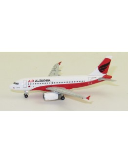 Airbus A319 Air Albania ZA-BEL Limited Herpa Wingsclub Edition