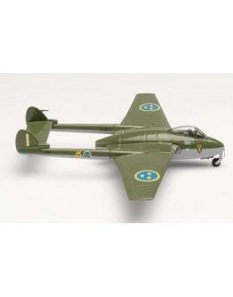 De Havilland Vampire J 28B R. Swedish AF F15 Hälsinge AF Wings