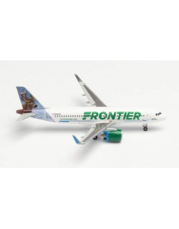"""Airbus A320neo Frontier Airlines """"Wilbur the Whitetail"""" N301FR"""