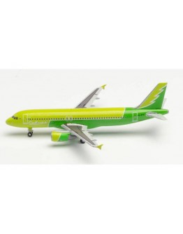 """Airbus A320 S7 Airlines """"Sibiria Reforestation"""" Livery VQ-BPN Herpa Wings Club Edition"""