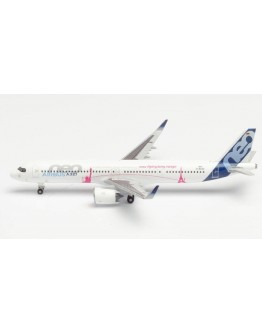 Airbus A321neo LR Airbus Industrie house colours D-AVZO Herpa Wings Club Edition