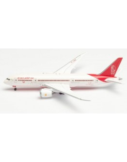 """Boeing 787-8 Dreamliner Air India """"150 Year Mahatma Ghandi"""" VT-ANP with stand Herpa Wings Club"""