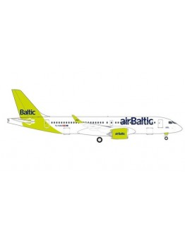 Airbus A220-300 Air Baltic 100th TL-AAU