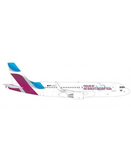 """Airbus A320 Eurowings """"Fuelled By The World's Greatest Team"""" D-AIZS"""