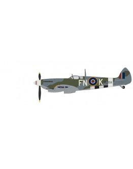 Spitfire Mk.IX PL258, 331 (Norwegian) Squadron, (under restoration by the Norwegian Spitfire Foundation)
