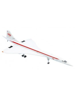 Concorde TWA Trans World Airlines N001TW with stand
