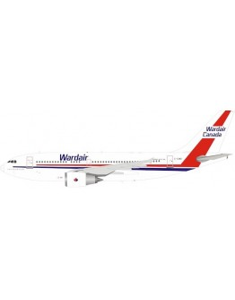 Airbus A310-300 Wardair Canada C-GIWD with stand