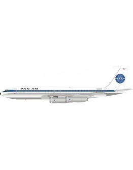 Boeing 707-300 Pan Am N434PA With Stand POLISHED