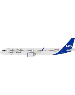 Airbus A321neo SAS Scandinavian Airlines SE-DMO Jarl Viking with stand