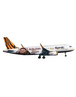 "Airbus A320 Tigerair Taiwan ""Rakuten Monkeys Livery"" B-50006 With Antenna"