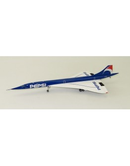 "Aérospatiale/British Aircraft Corporation Concorde Air France ""Pepsi"" F-BTSD"