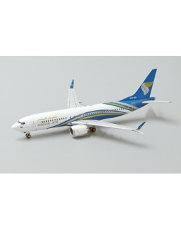 Boeing 737 MAX 8 Oman Air A4O-MA With Stand