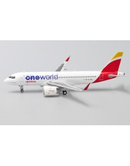 "Airbus A320neo Iberia ""OneWorld Livery"" EC-NFZ With Antenna"