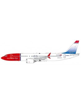"Boeing 737 MAX 8 Norwegian ""Oscar Wilde Livery"" LN-BKA With Antenna"
