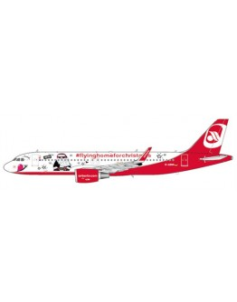 "Airbus A320 Air Berlin ""Flying Home For Christmas Livery"" D-ABNM With Antenna"