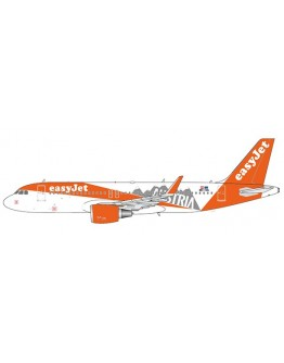 "Airbus A320 EasyJet ""Austria Livery"" OE-IVA With Antenna"