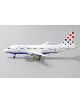 "Airbus A319 Croatia Airlines ""25years Godina"" 9A-CTH With Stand"