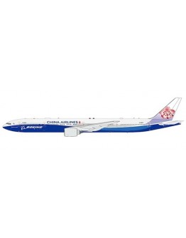 """Boeing 777-300ER China Airlines """"Dreamliner Livery"""" B-18007 Flap down"""