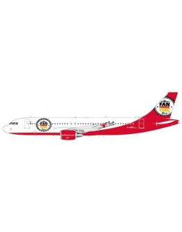 """Airbus A320 Air Berlin """"Fan Force One"""" D-ABFK"""