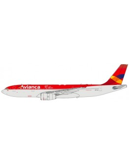 "Airbus A330-200 Avianca ""90 Años"" N973AV With Stand"