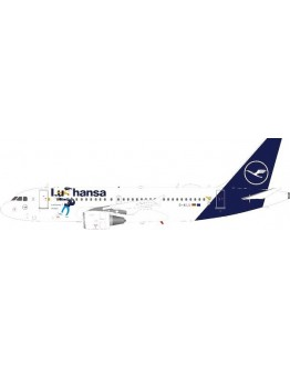Airbus A319-114 Lufthansa 'LU' logojet D-AILU With Stand