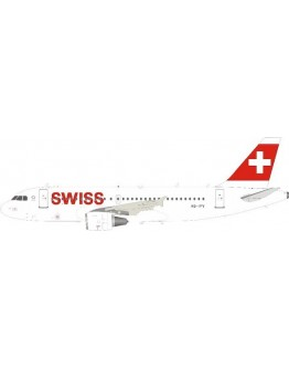 Airbus A319-112 Swiss International Air Lines HB-IPV With Stand
