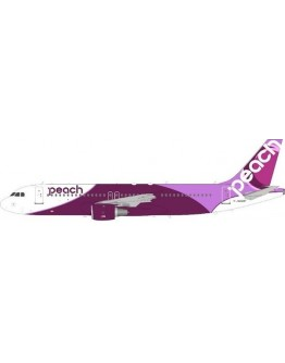 Airbus A320-200 Peach Aviation JA828P With Stand