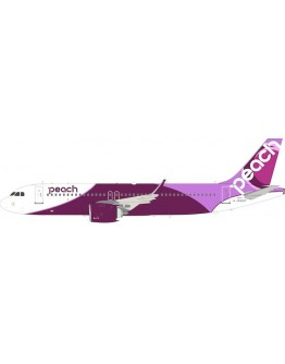 Airbus A320-200 Peach Aviation JA201P With Stand
