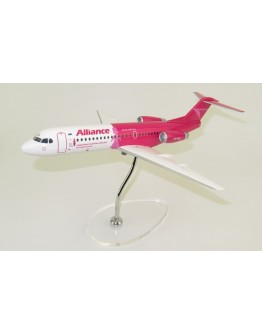 "Fokker 70 Alliance Airlines ""Breast Cancer Network Australia (BCNA)"" VH-NUU"