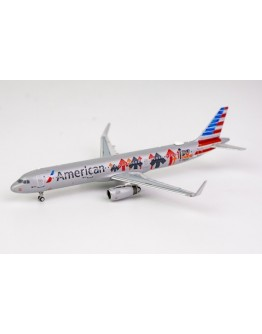 "Airbus A321-200 American Airlines ""Stand Up To Cancer"" N162AA"