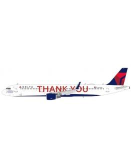 """Airbus A321 Delta Air Lines """"THANK YOU"""" N391DN"""