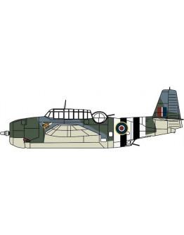 Grumman Avenger J2490 855 Sqn Hawkinge FAA June 1944 (Oxford Aviation Models AC099)