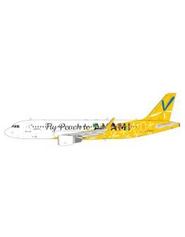 Airbus A320 Peach Aviation JA08VA Fly Peach to Amami